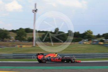 World © Octane Photographic Ltd. Red Bull Racing RB12 – Daniel Ricciardo. Friday 22nd July 2016, F1 Hungarian GP Practice 2, Hungaroring, Hungary. Digital Ref : 1641LB2D1313
