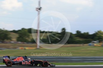 World © Octane Photographic Ltd. Scuderia Toro Rosso STR11 – Carlos Sainz. Friday 22nd July 2016, F1 Hungarian GP Practice 2, Hungaroring, Hungary. Digital Ref : 1641LB2D1339