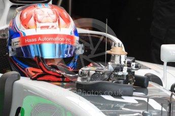 World © Octane Photographic Ltd. Haas F1 Team VF-16 – Romain Grosjean. Saturday 23rd July 2016, F1 Hungarian GP Practice 3, Hungaroring, Hungary. Digital Ref : 1647LB1D2966