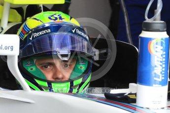 World © Octane Photographic Ltd. Williams Martini Racing, Williams Mercedes FW38 – Felipe Massa. Saturday 23rd July 2016, F1 Hungarian GP Practice 3, Hungaroring, Hungary. Digital Ref : 1647LB1D3020