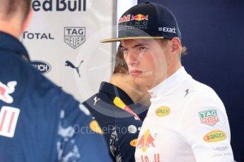 World © Octane Photographic Ltd. Red Bull Racing RB12 – Max Verstappen. Saturday 23rd July 2016, F1 Hungarian GP Practice 3, Hungaroring, Hungary. Digital Ref : 1647LB1D3069