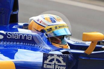 World © Octane Photographic Ltd. Sauber F1 Team C35 – Marcus Ericsson. Saturday 23rd July 2016, F1 Hungarian GP Practice 3, Hungaroring, Hungary. Digital Ref : 1647LB1D3221