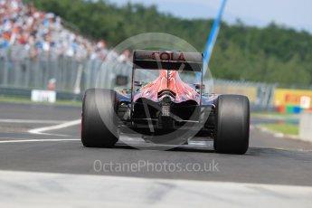 World © Octane Photographic Ltd. Scuderia Toro Rosso STR11 – Daniil Kvyat. Saturday 23rd July 2016, F1 Hungarian GP Practice 3, Hungaroring, Hungary. Digital Ref : 1647LB1D3247