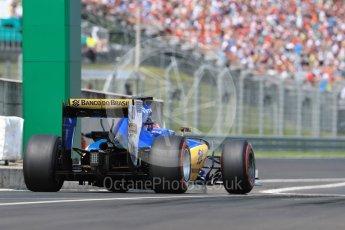 World © Octane Photographic Ltd. Sauber F1 Team C35 – Felipe Nasr. Saturday 23rd July 2016, F1 Hungarian GP Practice 3, Hungaroring, Hungary. Digital Ref : 1647LB1D3297