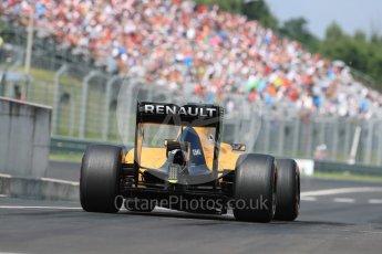 World © Octane Photographic Ltd. Renault Sport F1 Team RS16 – Jolyon Palmer. Saturday 23rd July 2016, F1 Hungarian GP Practice 3, Hungaroring, Hungary. Digital Ref : 1647LB1D3344