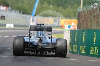 World © Octane Photographic Ltd. Mercedes AMG Petronas W07 Hybrid – Nico Rosberg. Saturday 23rd July 2016, F1 Hungarian GP Practice 3, Hungaroring, Hungary. Digital Ref : 1647LB1D3375