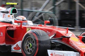 World © Octane Photographic Ltd. Scuderia Ferrari SF16-H – Kimi Raikkonen. Saturday 23rd July 2016, F1 Hungarian GP Practice 3, Hungaroring, Hungary. Digital Ref : 1647LB1D3616