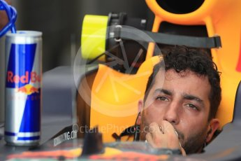 World © Octane Photographic Ltd. Red Bull Racing RB12 – Daniel Ricciardo. Saturday 23rd July 2016, F1 Hungarian GP Practice 3, Hungaroring, Hungary. Digital Ref : 1647LB1D3868