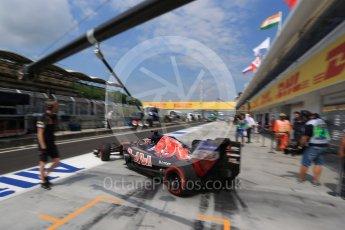 World © Octane Photographic Ltd. Scuderia Toro Rosso STR11 – Daniil Kvyat. Saturday 23rd July 2016, F1 Hungarian GP Practice 3, Hungaroring, Hungary. Digital Ref : 1647LB2D0001