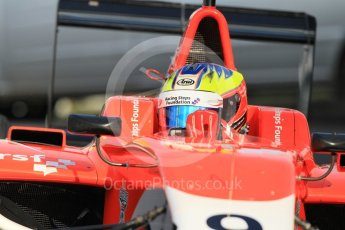 World © Octane Photographic Ltd. Arden International – GP3/16 – Jake Dennis. Friday 22nd July 2016, GP3 Practice, Hungaroring, Hungary. Digital Ref :