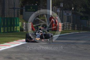 World © Octane Photographic Ltd. Sauber F1 Team C35 – Felipe Nasr. Friday 2nd September 2016, F1 Italian GP Practice 1, Monza, Italy. Digital Ref :1697LB1D5093