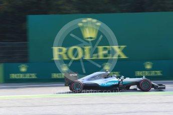World © Octane Photographic Ltd. Mercedes AMG Petronas W07 Hybrid – Nico Rosberg. Friday 2nd September 2016, F1 Italian GP Practice 1, Monza, Italy. Digital Ref :1697LB2D5503