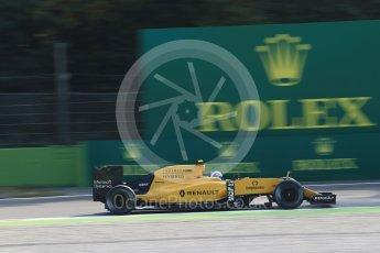 World © Octane Photographic Ltd. Renault Sport F1 Team RS16 – Jolyon Palmer. Friday 2nd September 2016, F1 Italian GP Practice 1, Monza, Italy. Digital Ref :1697LB2D5556