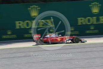 World © Octane Photographic Ltd. Scuderia Ferrari SF16-H – Kimi Raikkonen. Friday 2nd September 2016, F1 Italian GP Practice 1, Monza, Italy. Digital Ref :1697LB2D5641