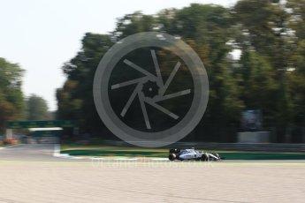 World © Octane Photographic Ltd. Williams Martini Racing, Williams Mercedes FW38 – Valtteri Bottas. Friday 2nd September 2016, F1 Italian GP Practice 1, Monza, Italy. Digital Ref :1697LB2D5830