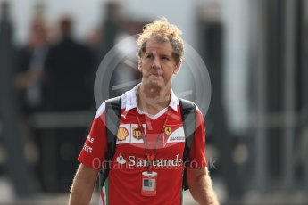 World © Octane Photographic Ltd. Scuderia Ferrari SF16-H – Sebastian Vettel. Saturday 3rd September 2016, F1 Italian GP Paddock, Monza, Italy. Digital Ref :1696LB1D7371