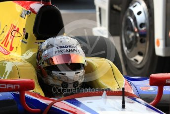 World © Octane Photographic Ltd. Trident - GP2/11 –Philo Paz Armand. Friday 2nd September 2016, GP2 Practice, Monza, Italy. Digital Ref : 1698LB1D5873