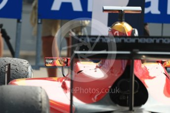 World © Octane Photographic Ltd. Racing Engineering - GP2/11 – Norman Nato. Sunday 4th September 2016, GP2 Race 1 Parc Ferme, Monza, Italy. Digital Ref :1707LB1D9880