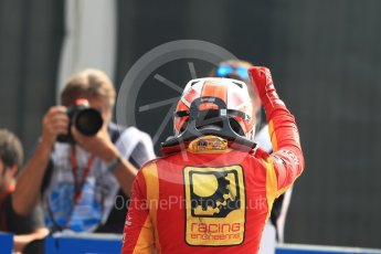 World © Octane Photographic Ltd. Racing Engineering - GP2/11 – Norman Nato. Sunday 4th September 2016, GP2 Race 1 Parc Ferme, Monza, Italy. Digital Ref :1707LB1D9907