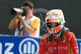 World © Octane Photographic Ltd. Racing Engineering - GP2/11 – Norman Nato. Sunday 4th September 2016, GP2 Race 1 Parc Ferme, Monza, Italy. Digital Ref :1707LB1D9923