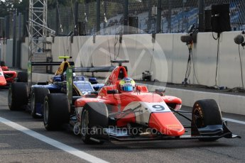 World © Octane Photographic Ltd. Arden International – GP3/16 – Jake Dennis and DAMS – Jake Hughes. Friday 2nd September 2016, GP3 Practice, Spa-Francorchamps, Belgium. Digital Ref : 1702LB1D6768