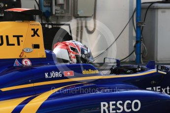World © Octane Photographic Ltd. DAMS - GP3/16 – Kevin Joerg. Friday 2nd September 2016, GP3 Practice, Spa-Francorchamps, Belgium. Digital Ref : 1702LB1D6776