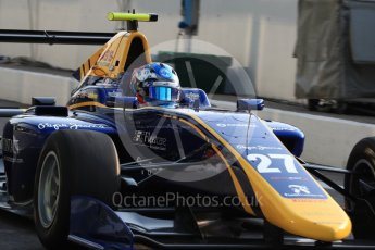 World © Octane Photographic Ltd. DAMS - GP3/16 – Jake Hughes. Friday 2nd September 2016, GP3 Practice, Spa-Francorchamps, Belgium. Digital Ref : 1702LB1D6808
