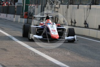 World © Octane Photographic Ltd. Trident – GP3/16 – Antonia Fuoco. Friday 2nd September 2016, GP3 Practice, Spa-Francorchamps, Belgium. Digital Ref : 1702LB1D6934