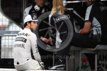 World © Octane Photographic Ltd. Sahara Force India VJM09 - Sergio Perez. Saturday 8th October 2016, F1 Japanese GP - Practice 3, Suzuka Circuit, Suzuka, Japan. Digital Ref : 1732LB2D3013