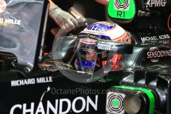 World © Octane Photographic Ltd. McLaren Honda MP4-31 – Jenson Button. Saturday 8th October 2016, F1 Japanese GP - Practice 3, Suzuka Circuit, Suzuka, Japan. Digital Ref : 1732LB2D3087
