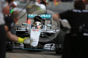 World © Octane Photographic Ltd. Mercedes AMG Petronas W07 Hybrid – Lewis Hamilton. Saturday 8th October 2016, F1 Japanese GP - Practice 3. Suzuka Circuit, Suzuka, Japan. Digital Ref : 1732LB2D3343