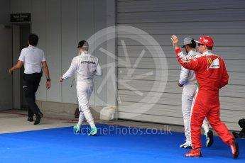 World © Octane Photographic Ltd. Mercedes AMG Petronas W07 Hybrid – Nico Rosberg followed by Lewis Hamilton and Scuderia Ferrari SF16-H – Kimi Raikkonen. Saturday 8th October 2016, F1 Japanese GP - Qualifying. Suzuka Circuit, Suzuka, Japan. Digital Ref : 1733LB1D6928