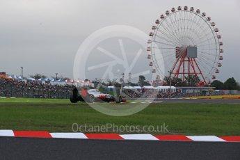 World © Octane Photographic Ltd. Haas F1 Team VF-16 - Esteban Gutierrez. Saturday 8th October 2016, F1 Japanese GP - Qualifying, Suzuka Circuit, Suzuka, Japan. Digital Ref : 1733LB2D3922