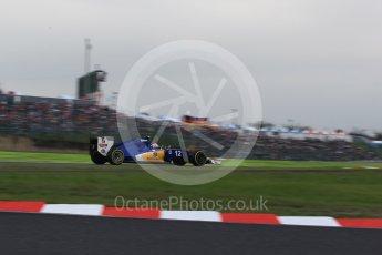 World © Octane Photographic Ltd. Sauber F1 Team C35 – Felipe Nasr. Saturday 8th October 2016, F1 Japanese GP - Qualifying, Suzuka Circuit, Suzuka, Japan. Digital Ref : 1733LB2D3930
