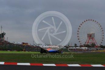 World © Octane Photographic Ltd. Manor Racing MRT05 – Esteban Ocon. Saturday 8th October 2016, F1 Japanese GP - Qualifying, Suzuka Circuit, Suzuka, Japan. Digital Ref : 1733LB2D4051