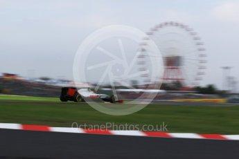 World © Octane Photographic Ltd. Haas F1 Team VF-16 - Esteban Gutierrez. Saturday 8th October 2016, F1 Japanese GP - Qualifying, Suzuka Circuit, Suzuka, Japan. Digital Ref : 1733LB2D4103