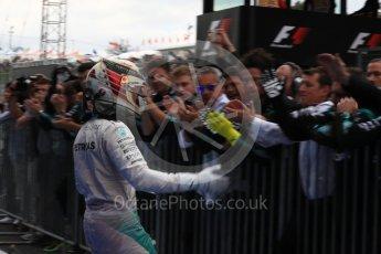 World © Octane Photographic Ltd. Mercedes AMG Petronas W07 Hybrid – Lewis Hamilton. Sunday 9th October 2016, F1 Japanese GP - Parc Ferme. Suzuka Circuit, Suzuka, Japan. Digital Ref :1737LB1D8156
