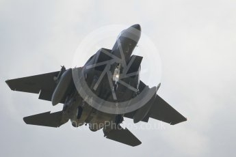 """World © Octane Photographic Ltd. 3rd May 2016 RAF Lakenheath, USAF (United States Air Force) 48th Fighter Wing """"Statue of Liberty Wing"""" 492 Fighter Squadron """"Mad Hatters"""", McDonnell Douglas F-15E Strike Eagle. Digital Ref : 1531CB1L0797"""