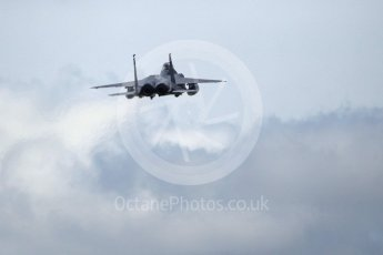 """World © Octane Photographic Ltd. 3rd May 2016 RAF Lakenheath, USAF (United States Air Force) 48th Fighter Wing """"Statue of Liberty Wing"""" 492 Fighter Squadron """"Mad Hatters"""", McDonnell Douglas F-15E Strike Eagle. Digital Ref : 1531CB1L0801"""