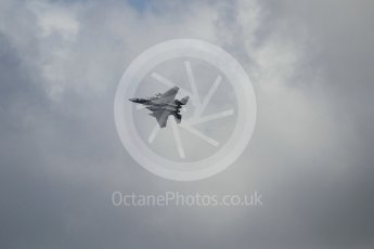 """World © Octane Photographic Ltd. 3rd May 2016 RAF Lakenheath, USAF (United States Air Force) 48th Fighter Wing """"Statue of Liberty Wing"""" 492 Fighter Squadron """"Mad Hatters"""", McDonnell Douglas F-15E Strike Eagle. Digital Ref : 1531CB1L0815"""