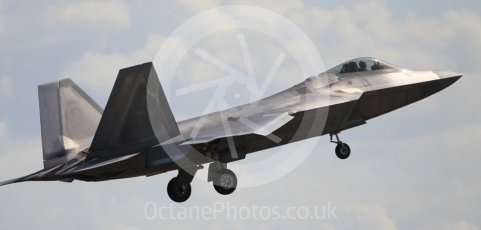 "World © Octane Photographic Ltd. 3rd May 2016 RAF Lakenheath, USAF (United States Air Force) 325th Operations Group, 95th Fighter Squadron ""Boneheads"", Lockheed-Martin F-22 Raptor. Digital Ref :1531CB1L1547"