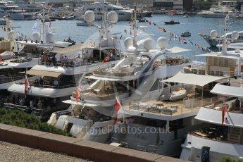 "World © Octane Photographic Ltd. Williams Martini Racing yacht ""Rola"". Saturday 28th May 2016, F1 Monaco GP Practice 3, Monaco, Monte Carlo. Digital Ref : 1568CB1D7914"