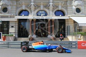 World © Octane Photographic Ltd. Manor Racing MRT05 - Pascal Wehrlein. Saturday 28th May 2016, F1 Monaco GP Practice 3, Monaco, Monte Carlo. Digital Ref : 1568CB1D7958