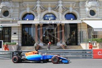 World © Octane Photographic Ltd. Manor Racing MRT05 - Pascal Wehrlein. Saturday 28th May 2016, F1 Monaco GP Practice 3, Monaco, Monte Carlo. Digital Ref : 1568CB1D8018