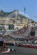 World © Octane Photographic Ltd. Mercedes AMG Petronas W07 Hybrid – Lewis Hamilton. Saturday 28th May 2016, F1 Monaco GP Practice 3, Monaco, Monte Carlo. Digital Ref : 1568LB1D0027