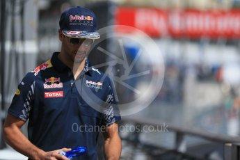 World © Octane Photographic Ltd. Red Bull Racing RB12 – Daniel Ricciardo. Saturday 28th May 2016, F1 Monaco GP Practice 3, Monaco, Monte Carlo. Digital Ref : 1568LB1D9030