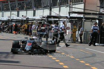 World © Octane Photographic Ltd. McLaren Honda MP4-31 – Jenson Button. Saturday 28th May 2016, F1 Monaco GP Practice 3, Monaco, Monte Carlo. Digital Ref : 1568LB1D9471