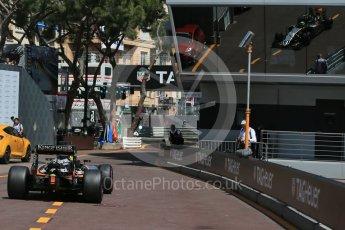 World © Octane Photographic Ltd. Sahara Force India VJM09 - Sergio Perez. Saturday 28th May 2016, F1 Monaco GP Practice 3, Monaco, Monte Carlo. Digital Ref : 1568LB1D9743