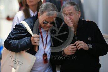 World © Octane Photographic Ltd. Jean Todt. Saturday 28th May 2016, F1 Monaco GP Practice 3, Monaco, Monte Carlo. Digital Ref : 1568LB1D9745