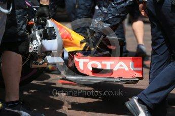 World © Octane Photographic Ltd. Red Bull Racing RB12 – Max Verstappen. Saturday 28th May 2016, F1 Monaco GP Practice 3, Monaco, Monte Carlo. Digital Ref : 1568LB1D9857